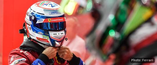 Sam Bird at Bahrain